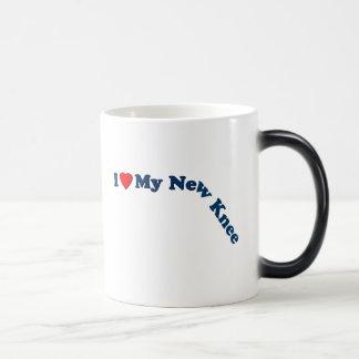 Amo mi nueva rodilla taza de café