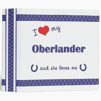 Amo mi Oberlander (el caballo femenino)