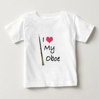Amo mi Oboe Playera De Bebé
