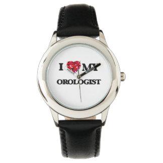 Amo mi Orologist Relojes De Mano