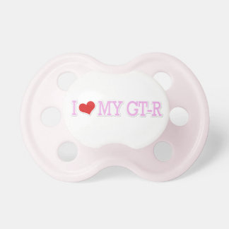 Amo mi Pacis rosado GTR Chupetes De Bebe