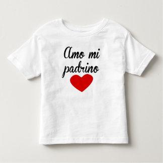 Amo Mi Padrino Toddler T-shirt