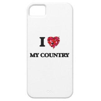 Amo mi país iPhone 5 carcasa
