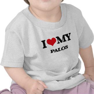 Amo mi PALOS Camiseta
