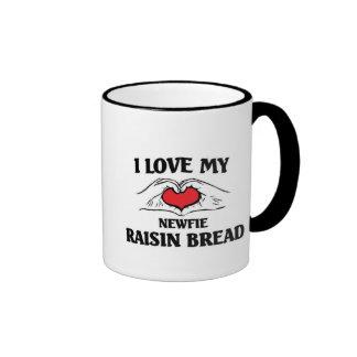 Amo mi pan de pasa de Terranova Taza De Café