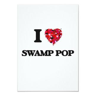 """Amo mi PANTANO POP Invitación 3.5"""" X 5"""""""