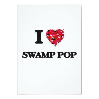 """Amo mi PANTANO POP Invitación 5"""" X 7"""""""
