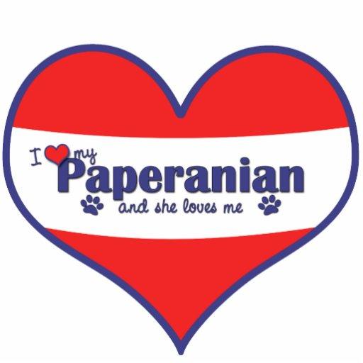Amo mi Paperanian (el perro femenino) Esculturas Fotograficas
