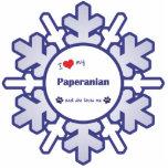 Amo mi Paperanian (el perro femenino) Esculturas Fotográficas