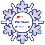 Amo mi Paperanians (los perros múltiples) Esculturas Fotográficas
