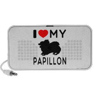 Amo mi Papillon. Altavoz De Viajar