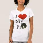 Amo mi para camiseta