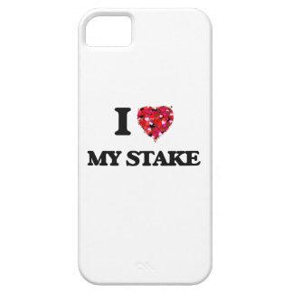Amo mi participación iPhone 5 carcasa
