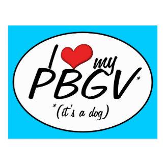 Amo mi PBGV es un perro Postales
