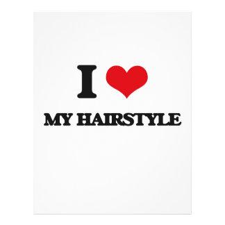 Amo mi peinado tarjeton