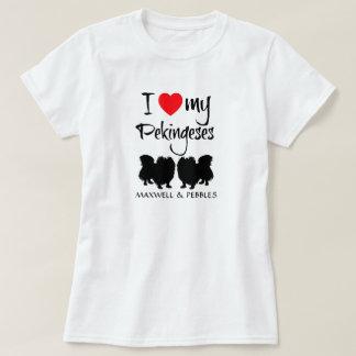Amo mi Pekingeses Camisas