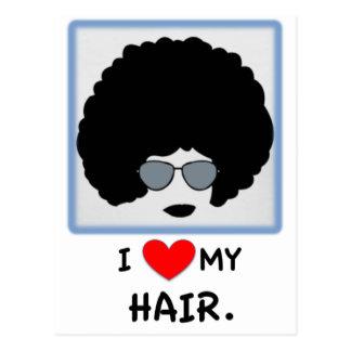 Amo mi pelo - Afro Postales