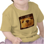 Amo mi peluche (la camiseta infantil)