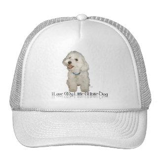 Amo mi pequeño perro blanco - Havanese Gorro