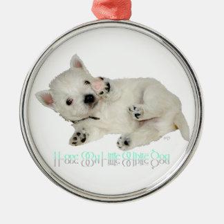 Amo mi pequeño perro blanco - perrito de Westie Adorno