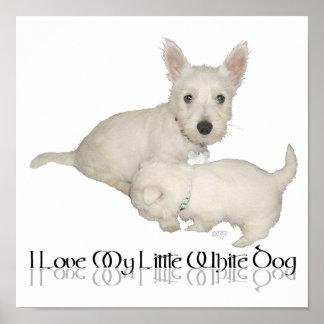¡Amo mi pequeño perro blanco - perritos de Westie! Impresiones
