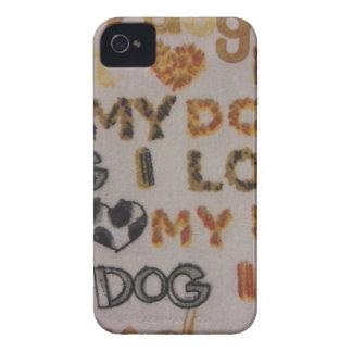 Amo mi perro carcasa para iPhone 4 de Case-Mate