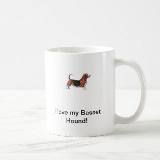 ¡Amo mi perro de afloramiento! Taza De Café