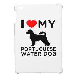 Amo mi perro de agua portugués