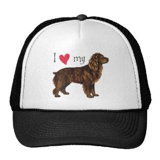 Amo mi perro de aguas de Boykin Gorro De Camionero