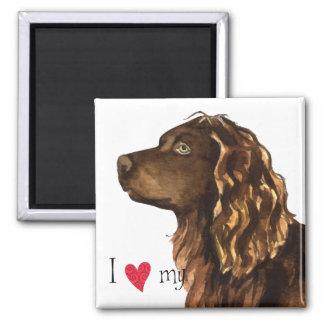 Amo mi perro de aguas de Boykin Iman De Nevera