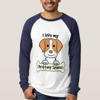 Amo mi perro de aguas de Bretaña Playera