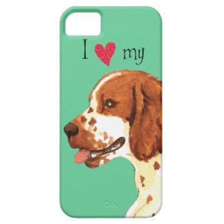 Amo mi perro de aguas de saltador galés iPhone 5 Case-Mate protectores