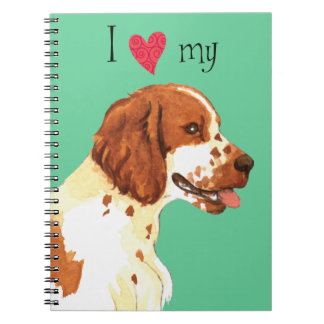 Amo mi perro de aguas de saltador galés libretas
