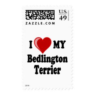 Amo mi perro de Bedlington Terrier Envio