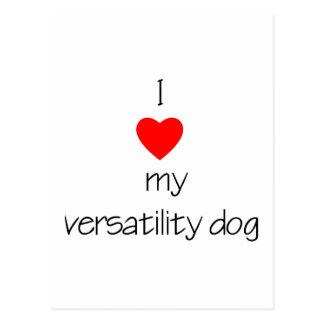 Amo mi perro de la flexibilidad postal