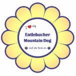 Amo mi perro de la montaña de Entlebucher (el perr Escultura Fotografica