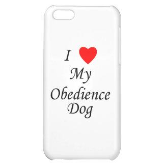 Amo mi perro de la obediencia