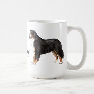 Amo mi perro de montaña de Bernese Taza De Café
