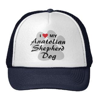 Amo mi perro de pastor de Anatolia Gorros Bordados