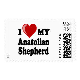 Amo mi perro de pastor de Anatolia Sellos