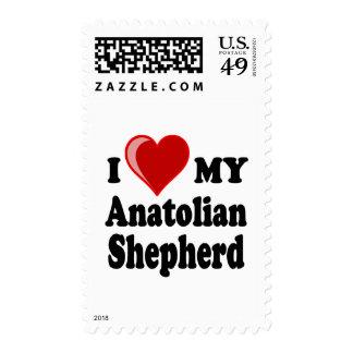 Amo mi perro de pastor de Anatolia Sello