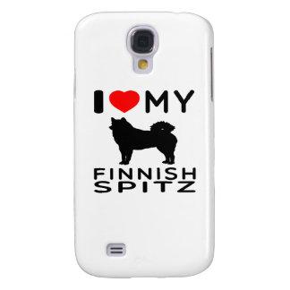 Amo mi perro de Pomerania finlandés