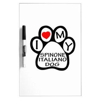 Amo mi perro de Spinone Italiano