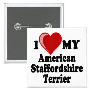 Amo mi perro de Staffordshire Terrier americano