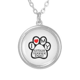 Amo mi perro de Terrier australiano Grimpolas Personalizadas
