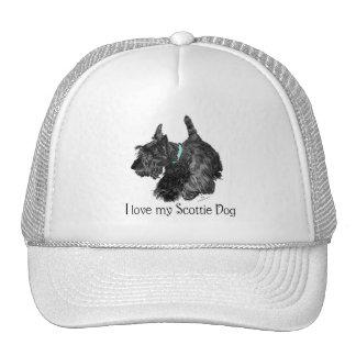 Amo mi perro del escocés gorra
