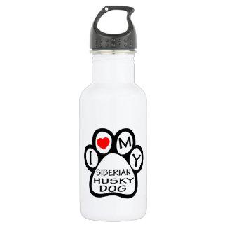 Amo mi perro del husky siberiano
