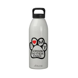 Amo mi perro del organismo de Gordon Botella De Beber