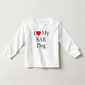 Amo mi perro del SAR Playera