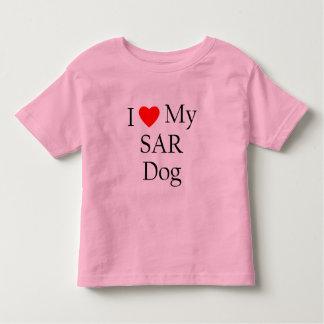 Amo mi perro del SAR Polera